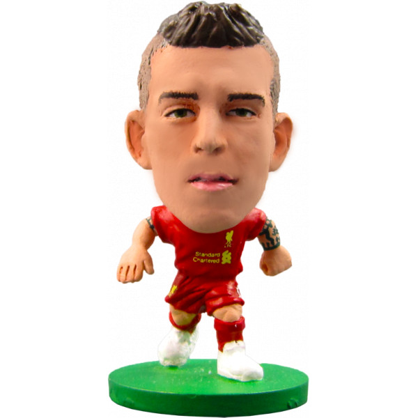 Soccerstarz Miniatyrfigur Liverpool Daniel Agger - Home Kit 2014 från Soccerstarz