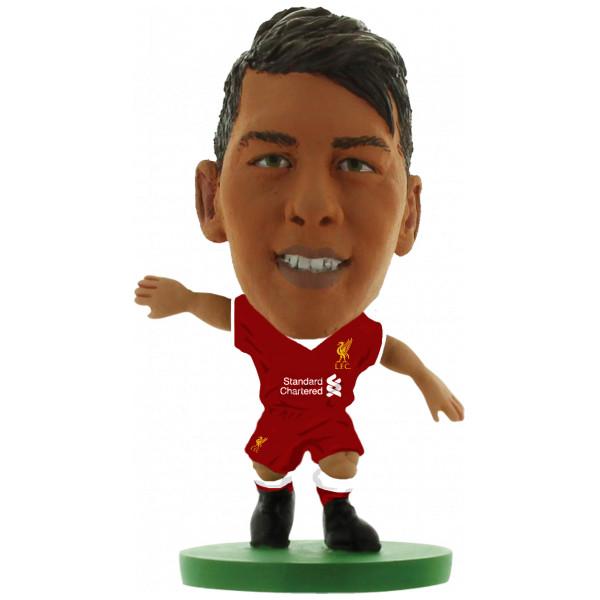 Soccerstarz Miniatyrfigur Liverpool Firmino - Home Kit 2018 Version från Soccerstarz