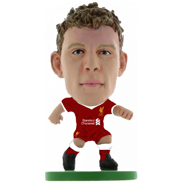 Soccerstarz Miniatyrfigur Liverpool James Milner - Home Kit 2018 Version från Soccerstarz