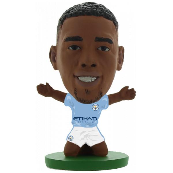 Soccerstarz Miniatyrfigur Manchester City Gabriel Jesus - Home Kit 2018 Version från Soccerstarz