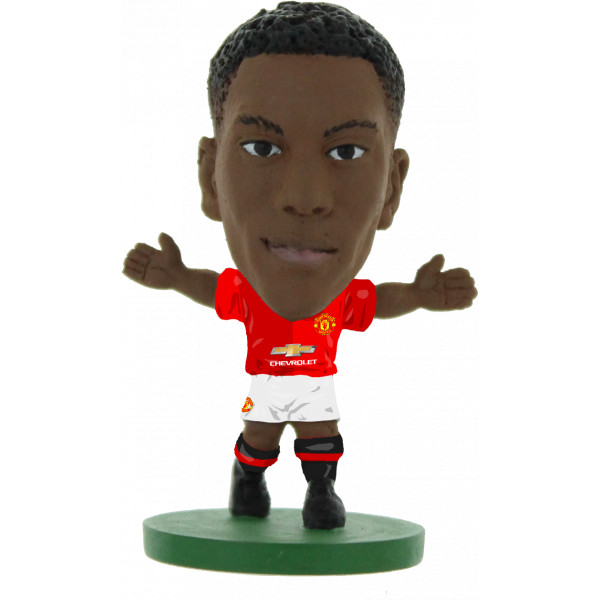 Soccerstarz Miniatyrfigur Manchester United Anthony Martial - Home Kit 2017 från Soccerstarz