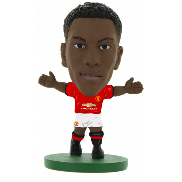 Soccerstarz Miniatyrfigur Manchester United Anthony Martial - Home Kit 2018 Version från Soccerstarz