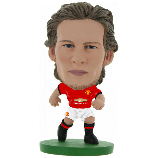 Soccerstarz Miniatyrfigur Manchester United Daley Blind - Home Kit 2018 Version från Soccerstarz