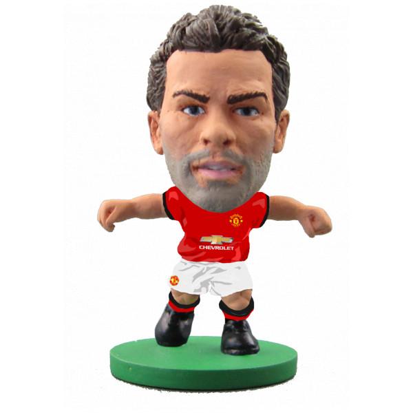 Soccerstarz Miniatyrfigur Manchester United Juan Mata - Home Kit 2018 Version från Soccerstarz