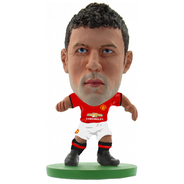 Soccerstarz Miniatyrfigur Manchester United Michael Carrick - Home Kit 2018 Version från Soccerstarz