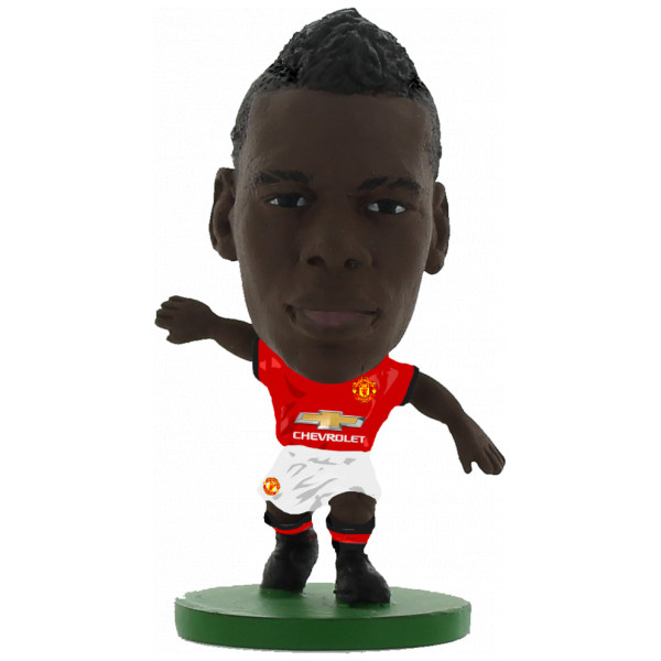 Soccerstarz Miniatyrfigur Manchester United Paul Pogba - Home Kit 2018 Version från Soccerstarz