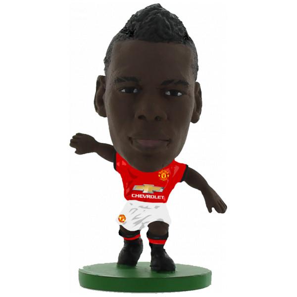 Soccerstarz Miniatyrfigur Manchester United Paul Pogba - Home Kit 2018 Version från Soccerstarz