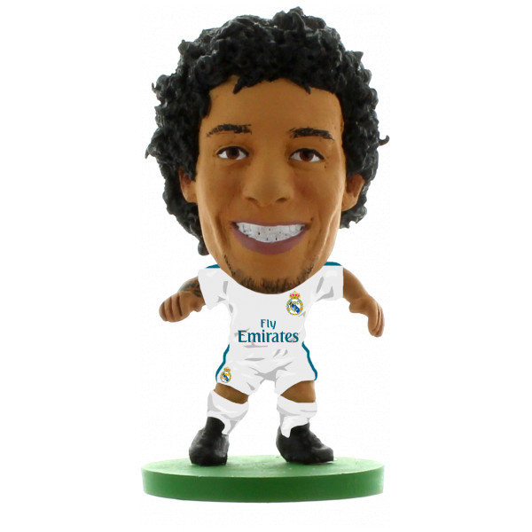 Soccerstarz Miniatyrfigur Real Madrid Marcelo Vieira - Home Kit 2018 Version från Soccerstarz