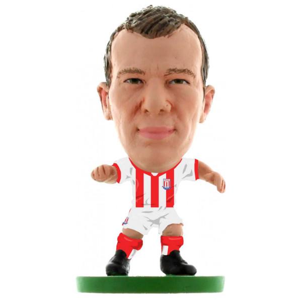 Soccerstarz Miniatyrfigur Stoke Glenn Whelan - Home Kit Classic från Soccerstarz