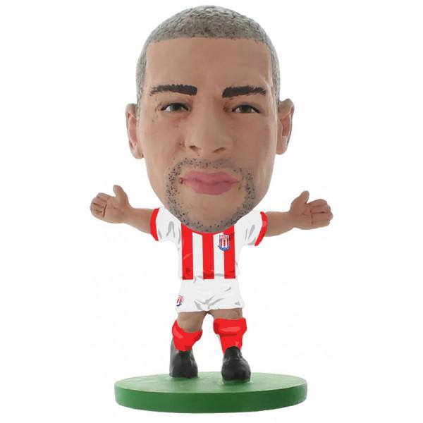 Soccerstarz Miniatyrfigur Stoke Jonathan Walters - Home Kit Classic från Soccerstarz