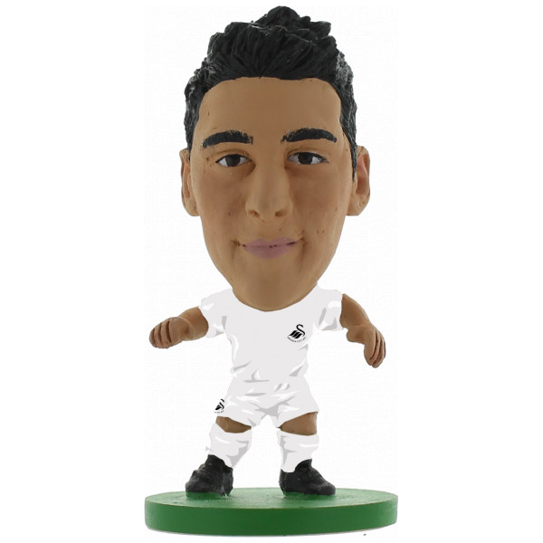 Soccerstarz Miniatyrfigur Swansea Neil Taylor - Home Kit Classic från Soccerstarz