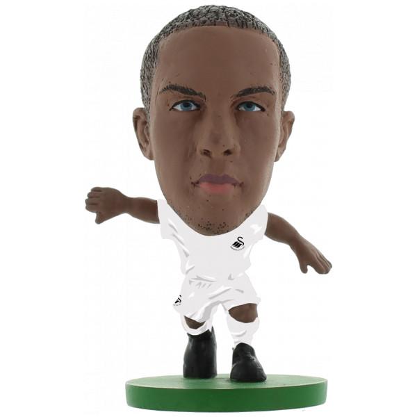 Soccerstarz Miniatyrfigur Swansea Wayne Routledge - Home Kit Classic från Soccerstarz
