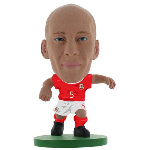 Soccerstarz Miniatyrfigur Wales - James Collins från Soccerstarz
