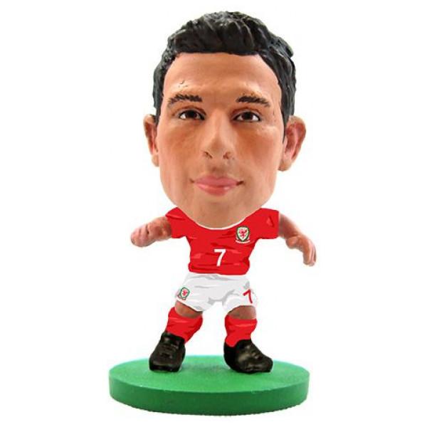 Soccerstarz Miniatyrfigur Wales - Joe Allen från Soccerstarz