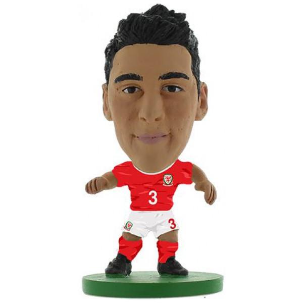 Soccerstarz Miniatyrfigur Wales - Neil Taylor från Soccerstarz