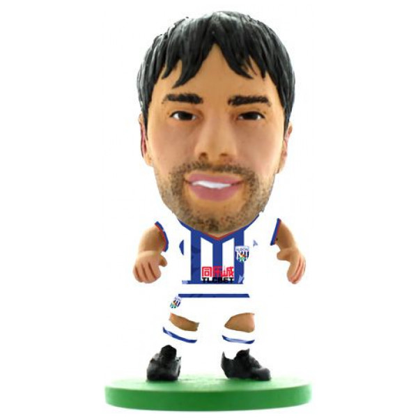 Soccerstarz Miniatyrfigur West Bromwich Claudio Yacob - Home Kit Classic från Soccerstarz