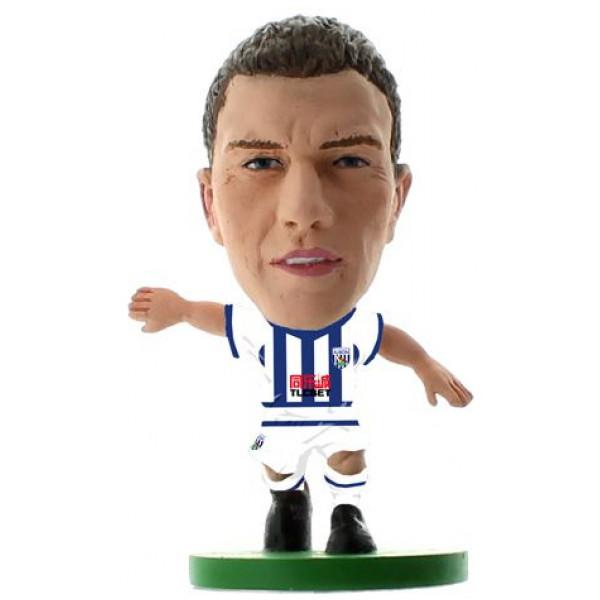 Soccerstarz Miniatyrfigur West Bromwich Craig Gardner - Home Kit Classic från Soccerstarz