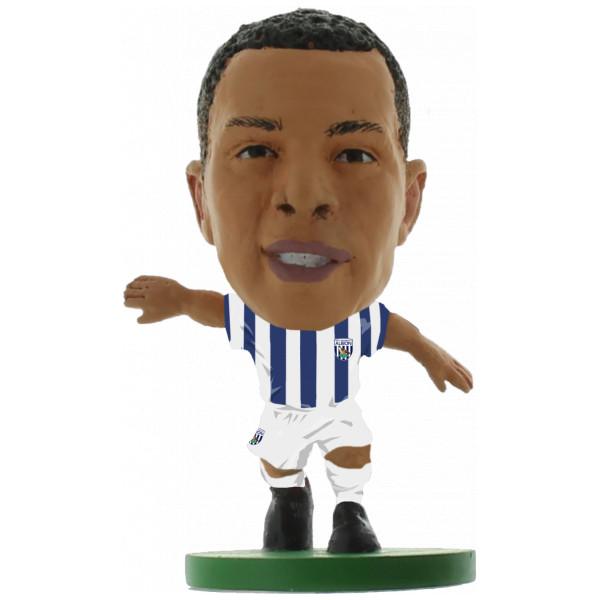 Soccerstarz Miniatyrfigur West Bromwich Matt Phillips - Home Kit Classic från Soccerstarz