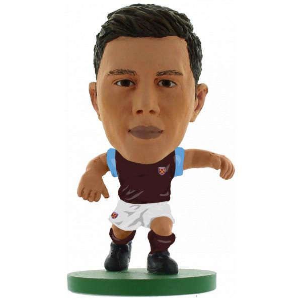 Soccerstarz Miniatyrfigur West Ham Aaron Cresswell - Home Kit Classic från Soccerstarz