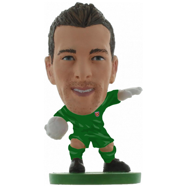 Soccerstarz Miniatyrfigur West Ham Adrian - Home Kit Classic från Soccerstarz