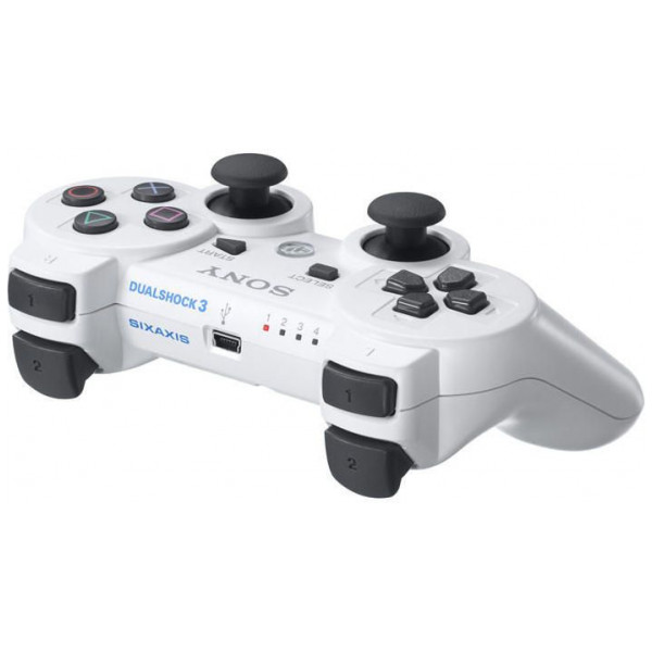Sony Tv-Spel Dualshock 3 Controller **white** Grade A Refurbished In Black Poly Bag från Sony