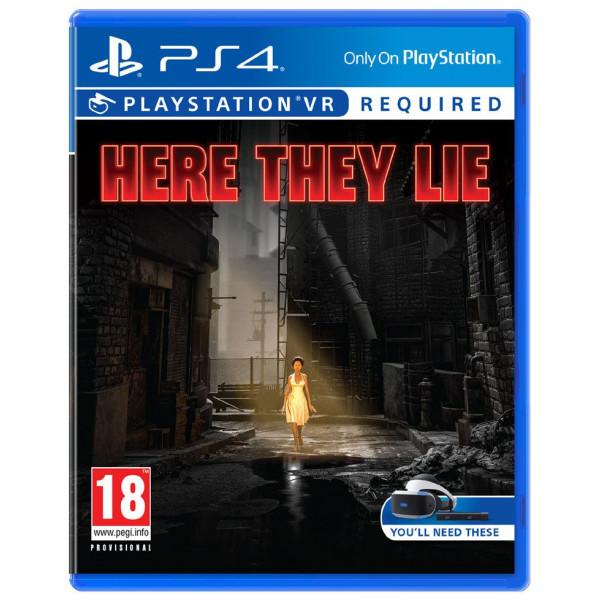 Sony Tv-Spel Here They Lie Vr Psvr från Sony