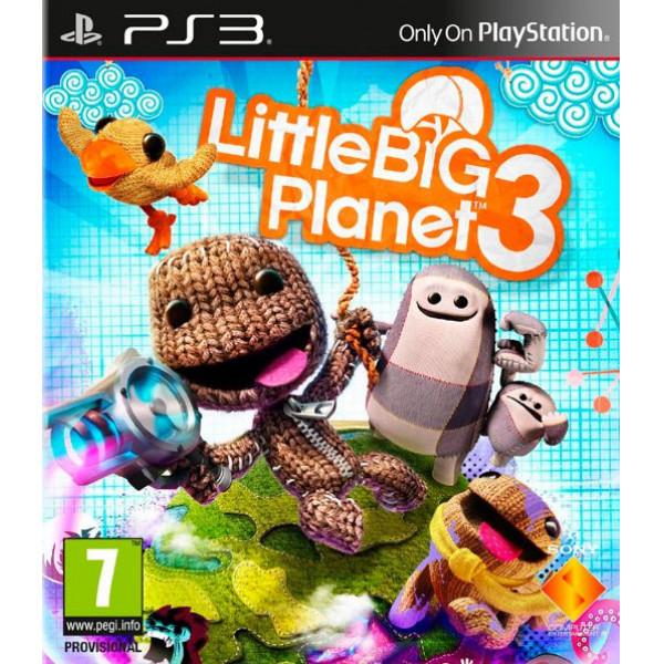 Sony Tv-Spel Littlebig Planet 3 från Sony