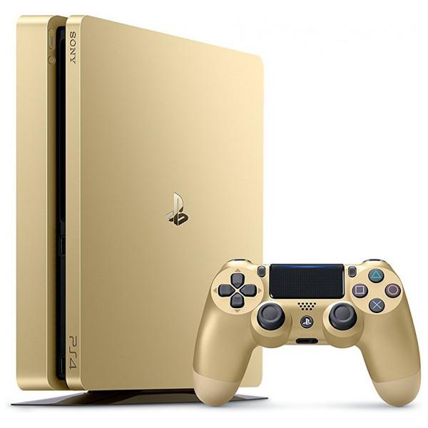 Sony Tv-Spel Playstation 4 Slim - Gold Limited Edition 500Gb från Sony