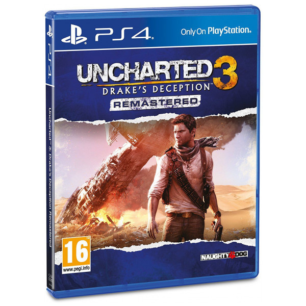 Sony Tv-Spel Uncharted 3 Drakes Deception Remastered från Sony