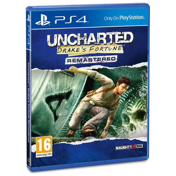 Sony Tv-Spel Uncharted Drakes Fortune Remastered från Sony