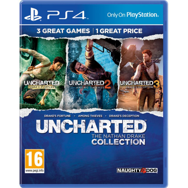 Sony Tv-Spel Uncharted The Nathan Drake Collection från Sony