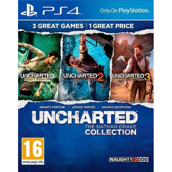 Sony Tv-Spel Uncharted The Nathan Drake Collection Nordic från Sony