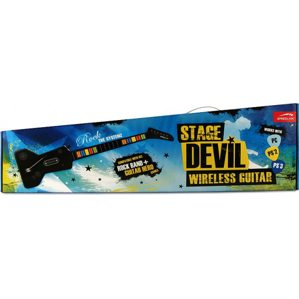Speed Link Tv-Spel Stage Devil Wireless Guitar - Pcps2ps3 Speedlink från Speed link