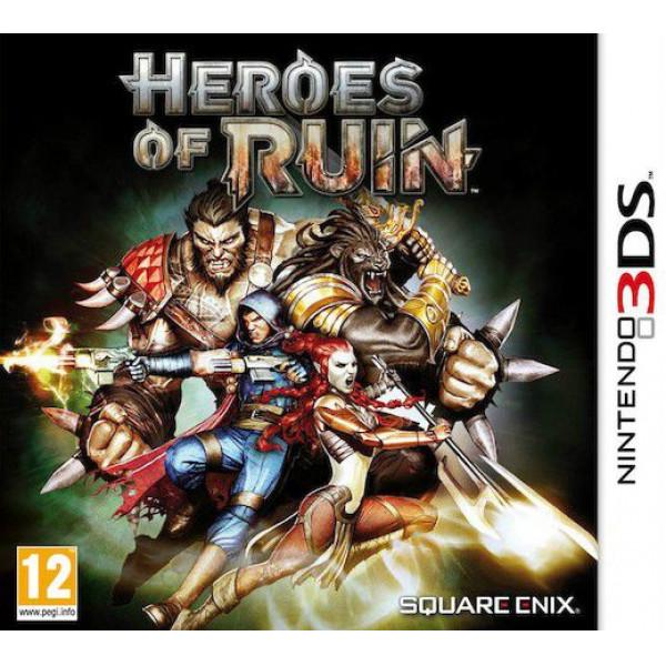 Square Enix Tv-Spel Heroes Of Ruin Sefi från Square enix