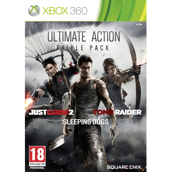Square Enix Tv-Spel Just Cause 2 Sleeping Dogs & Tomb Raider Bundle från Square enix