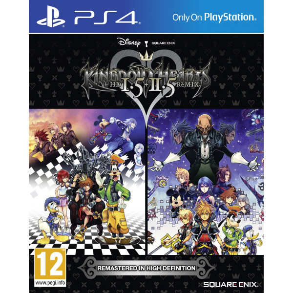 Square Enix Tv-Spel Kingdom Hearts Hd 15 + 25 Remix från Square enix