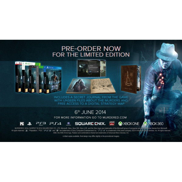 Square Enix Tv-Spel Murdered Soul Suspect - Limited Edition xbox One från Square enix