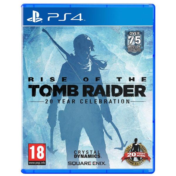 Square Enix Tv-Spel Rise Of The Tomb Raider 20 Year Celebration - Artbook Edition från Square enix