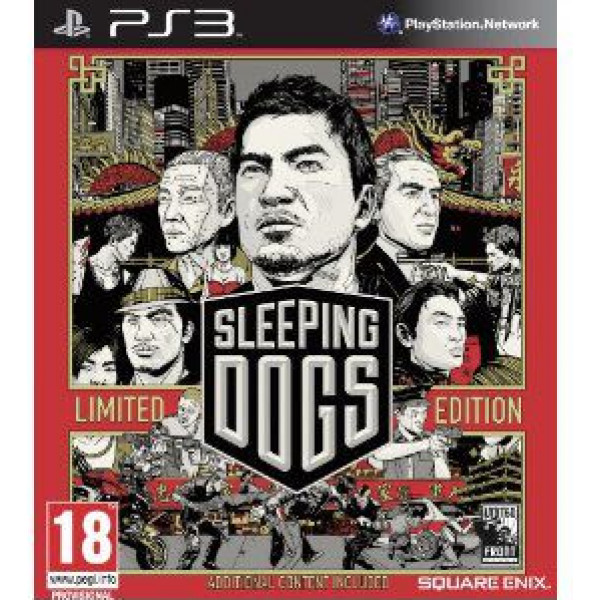 Square Enix Tv-Spel Sleeping Dogs - Limited Edition från Square enix
