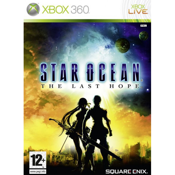 Square Enix Tv-Spel Star Ocean The Last Hope från Square enix