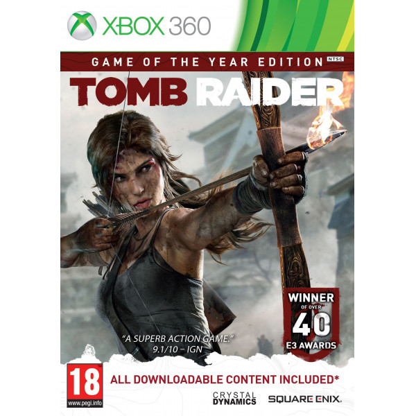 Square Enix Tv-Spel Tomb Raider - Game Of The Year Edition från Square enix