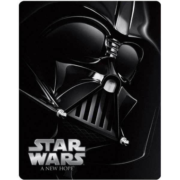 Star Wars 0-Starwars Episode Iv A New Hope - Steelbook Blu-Ray från Star wars