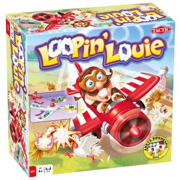 Tactic Sällskapsspel Loopin Louie - Årets Børnespil 2013 från Tactic