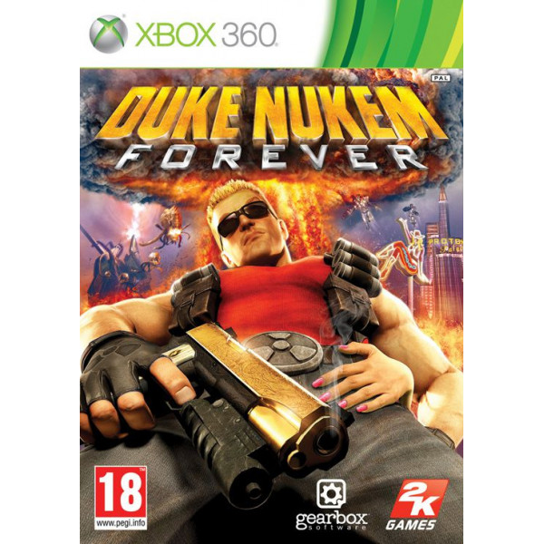 Take 2 Tv-Spel Duke Nukem Forever från Take 2
