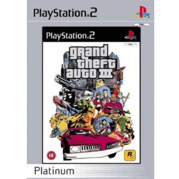 Take 2 Tv-Spel Grand Theft Auto Iii Gta 3 Platinum från Take 2