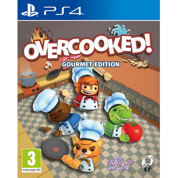 Team 17 Tv-Spel Overcooked Gourmet Edition från Team 17