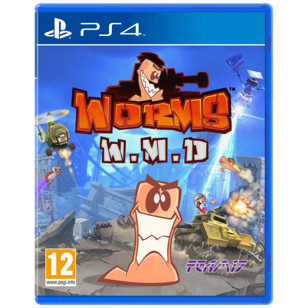 Team 17 Tv-Spel Worms Weapons Of Mass Destruction från Team 17