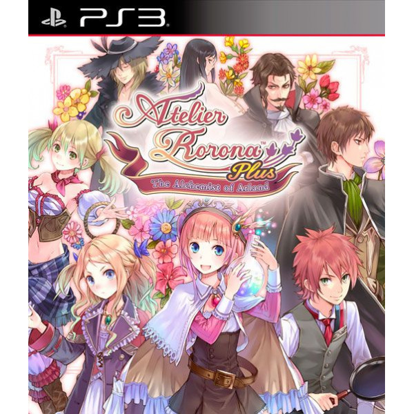 Tecmo Tv-Spel Atelier Rorona Plus The Alchemist Of Arland från Tecmo