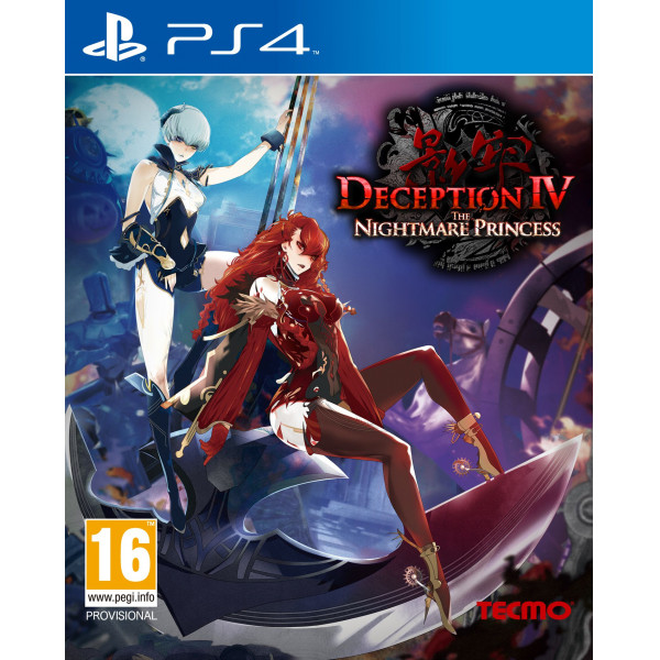 Tecmo Tv-Spel Deception Iv The Nightmare Princess från Tecmo