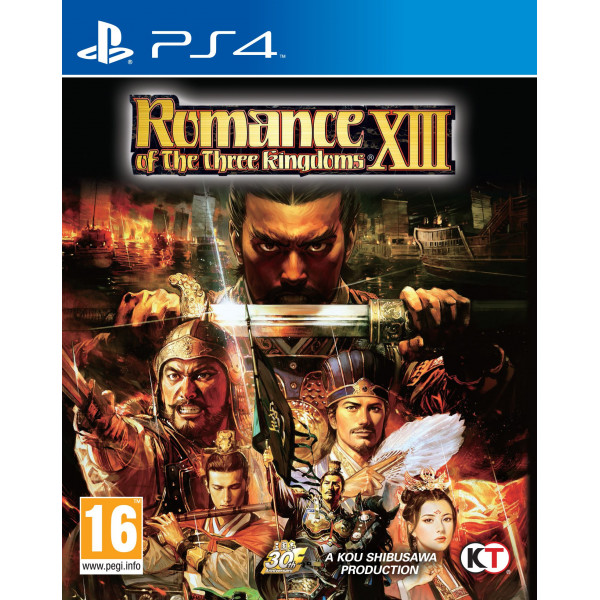 Tecmo Tv-Spel Romance Of The Three Kingdoms Xiii från Tecmo